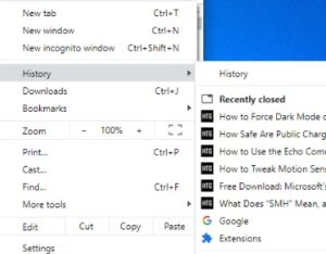 How to Reopen Closed Window